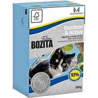 Bozita Feline Tetra Pak Package 6 x 190g - Hair & Skin - Sensitive
