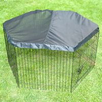 Outback Hexagonal Run with Sun Protection - 6 Elements: each 60 x 60 cm (L x W)