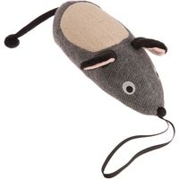 Jumbo-sized Toy Mouse with Scratch Pad - 42cm