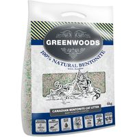 Greenwoods Natural Clay Clumping Cat Litter with Zeolite - 6kg