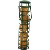 Bird Fat Ball Feeder - 1 Feeder with 5 Fat Balls
