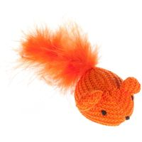 Woolly Mouse Cat Toy - 1 Mouse