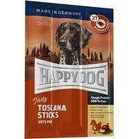 Happy Dog Toscana Tasty Sticks - Saver Pack: 9 x 10g