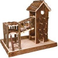 Birger Small Pet Playhouse - 36 x 26 x 33 cm (L x W x H)
