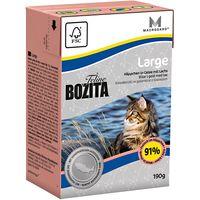 Bozita Feline Tetra Pak Saver Pack 16 x 190g - Hair & Skin - Sensitive