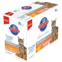 Hills Science Plan Young Adult Sterilised Cat Pouches - Chicken 6 x 85g