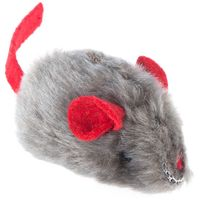 Toy Mouse with Microchip Squeak and Catnip - 3 Mice