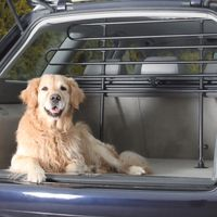 Trixie Protective Car Boot Bars - 85 140 x 75 110 cm (W x H)