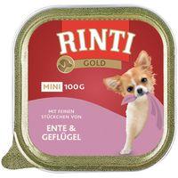 Rinti Gold Mini 6 x 100g - Beef & Guinea Fowl