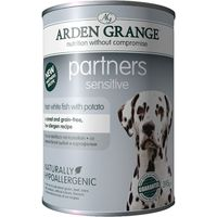 Arden Grange Partners Sensitive - White Fish with Potato - 6 x 395g
