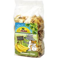 JR Farm Banana Chips - Saver Pack: 4 x 150g