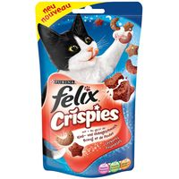 Felix Crispies 45g - Saver Pack: 3 x Meat & Vegetables
