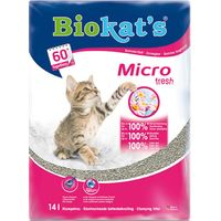 Biokats Micro Fresh Cat Litter - 14l