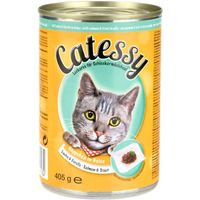Catessy Bites in Jelly 12 x 405g - Mixed Pack