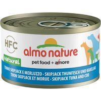 Almo Nature Classic 6 x 95g - Skip Jack Tuna