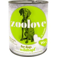 zoolove Wet Dog Food Mixed Pack - 6 x 800g