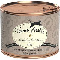 Terra Faelis Meat Menus Saver Pack 12 x 200g - Turkey with Zucchini & Camomile