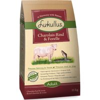 Lukullus Dog Food Charolais Beef & Trout - 1.5kg