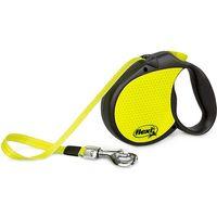 flexi Neon Reflect Dog Lead - Large - Neon