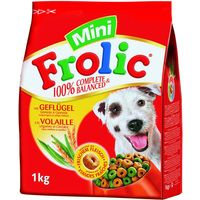 Frolic Complete Mini with Poultry - Economy Pack: 3 x 1kg