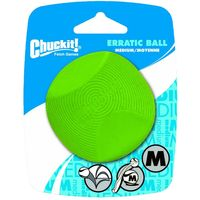 Chuckit! Erratic Ball Dog Toy - Size M: Diameter 6.5cm