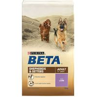 BETA Dog Food Economy Packs - Puppy with Lamb & Rice (2 x 14kg)