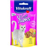 Vitakraft Cat Yums 40g - Saver Pack: 3 x Liver Sausage