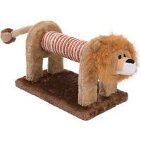 Lion Scratch Toy - 28 x 17 x 17 cm (L x W x H)
