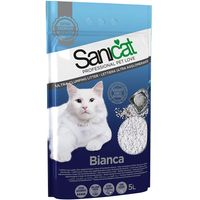 Sanicat Bianca Clumping Litter - 5l
