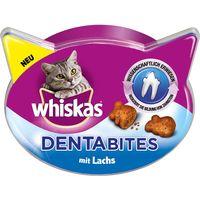 Whiskas Dentabites 40g - Saver Pack: 3 x Salmon