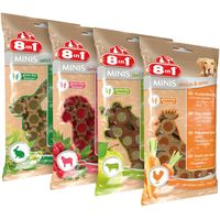 8in1 Minis Mixed Pack 4 x 100g - 4 Varieties