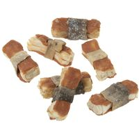 Lukullus Dog Bones Saver Pack 36 x 5cm - Salmon