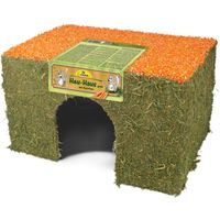 JR Farm Hay-House with Carrot - Large (650g)