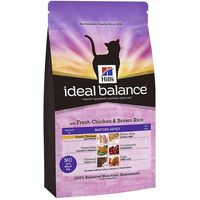 Hills Ideal Balance Feline Mature - Chicken & Brown Rice - Economy Pack: 2 x 2kg