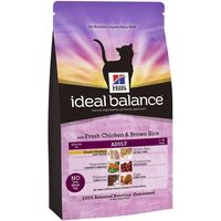 Hills Ideal Balance Feline Adult - Chicken & Brown Rice - Economy Pack: 2 x 4kg