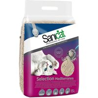 Sanicat Selection Mediterranea Clumping Litter - Economy Pack: 2 x 15l