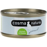 Cosma Nature Saver Pack 48 x 70g - Chicken Breast & Shrimps