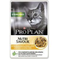 Pro Plan Nutrisavour Sterilised 10 x 85g - Chicken