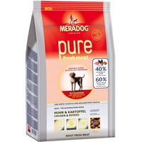 Meradog pure Fresh Meat Chicken & Potato - Economy Pack: 2 x 12.5kg