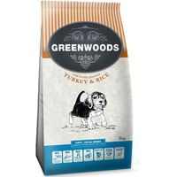 Greenwoods Puppy Turkey & Rice - 12kg