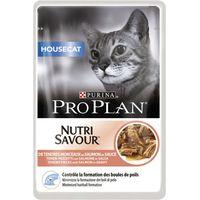Pro Plan Nutrisavour Housecat 10 x 85g - Salmon
