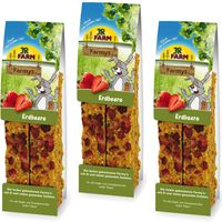 JR Farm Farmys 6 Pieces - Strawberry (6 Pieces)