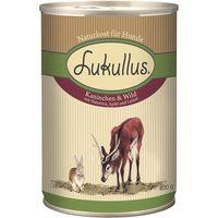 Lukullus Saver Pack 12 x 400g - Goose & Turkey Hearts