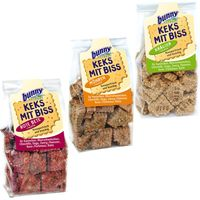 Bunny Snack Set Biscuits With Bite - 3 Pack