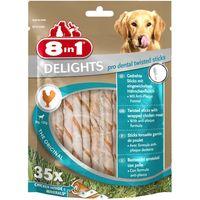 8in1 Delights Pro Dental Twist Sticks - 35 Chew Sticks