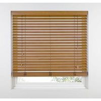 Made To Measure 50Mm Wooden Venetian Blinds - Tawny