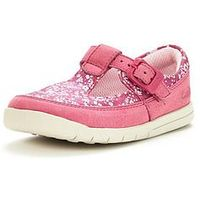 Clarks Crazy Tale First Shoe, Hot Pink, Size 3.5 Younger