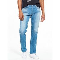 Replay New Bill Comfort Fit Jeans, Light Wash, Size 30, Inside Leg Long, Men