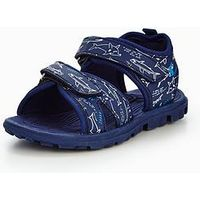 Joules JUNIOR BOY ROCK ACTIVE SANDAL, Navy, Size 2 Older