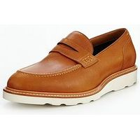 Aldo Jauquet Penny Loafer, Cognac, Size 6, Men